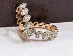 Marquise Kadi Type Real Diamond jewellery, Weight: 4.370 Grams