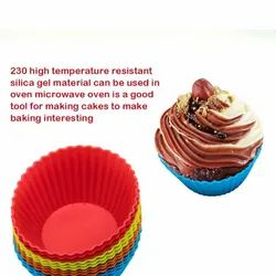 Silicone Muffins Cup Cake Mould