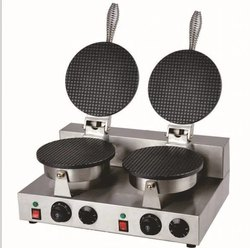 Stainless Steel Waffle Cone Maker Machine