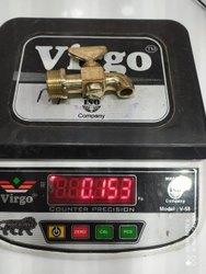 Brass Square Taper 20mm 160gm