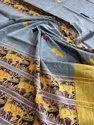 Mulmul Cotton Hand Weaving Work Sarees