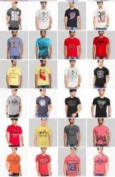Round Half Sleeve Men And Women T Shirts