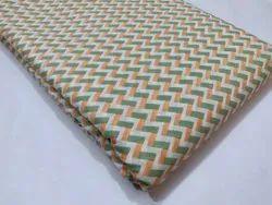 Bagru Print Cotton Fabric