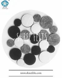 Furniture Floor & Edges Protection Self Adhesive Felts Pads
