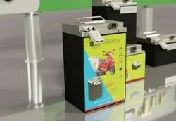 Sumatotek Lithium Ion -72v 36ah Battery, _Electric Scooter Battery_Upto 100km Mileage