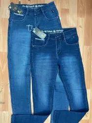 Denim Plain Jeans For Men, Waist Size: 32