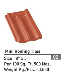 Rani brand Natural Small Clay Roof Tiles