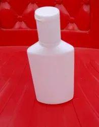 60ml Hdpe Flat Shampoo Bottle