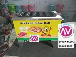 Gas Egg Roll Machine