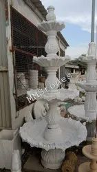 Marble Stone Fountain 4 Plate