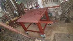 Mild Steel Industrial Platform Trolley