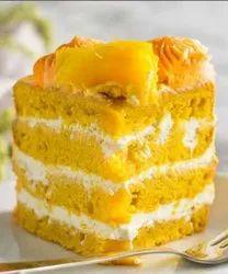 Eggless mango cake premix