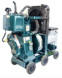 Run+Ganga+Comfort 7.5 KVA Water Cooled Generator, Single Phase