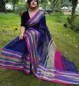 Khadi Cotton Plain Weaving Sarees