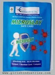 Microslay safe card