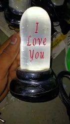 Selanite Carving Lamp