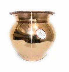 Gold Original Copper lota, For Home, Size: 9