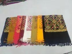Rectangular Formal Wear Acrylic Chinar Jaal Stole