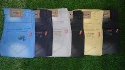 Denim Party Wear Men Knitted Jeans
