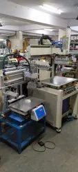 Semi Automatic Flatbed Vertical Screen Printing Machine