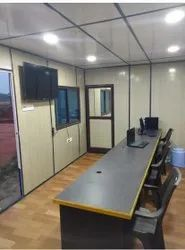 Rectangular Portable Office Container