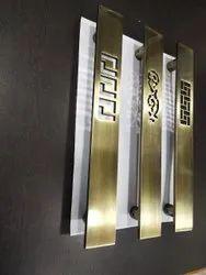 Stainless Steel Door Pull Handles