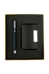 Promotional Corporate Gift Set Pen & Business Card Holder