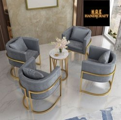 Gold plated Steel furniture
