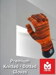 Premium Knitted Dotted Gloves