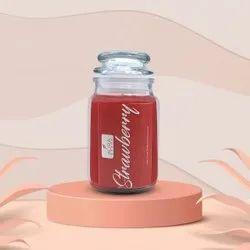 AuraDecor Fragrance Jar Candle 160 gm ( Burning Time 72 hours )