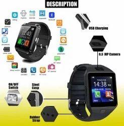Bluetooth DZ09 Smart Watch With Camera & Sim Card Support