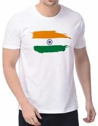Personalize Independence Day  T-shirt In Bulk 120 Gsm