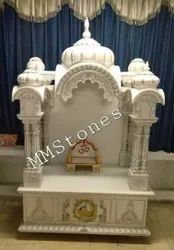 White Marble Temple For Home