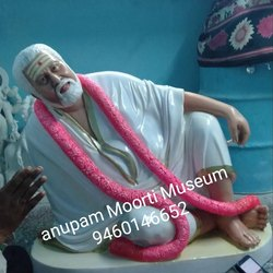 Guru Maharaj Human Marble Statue