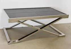 Brown Modern Living Room Coffee Table, For Home