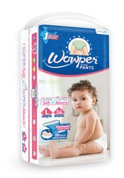 Cotton Disposable Baby Diapers