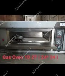 Gas Pizza Oven With Stone Base
