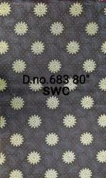 Multicolor Polyester Roto Gold Fabric, For Mattresses, 80 Gsm
