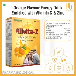 Allvita-Z energy drink powder