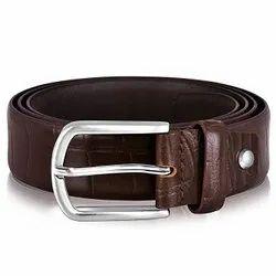 Profile genuine leather belt