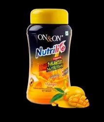 Nutrilife - On&On Mango Flavor, For Nutritional Supplements, Packaging Size: 750 Gm