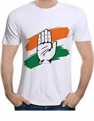 Congress Election T Shirt 120 GSM Election T Shirt