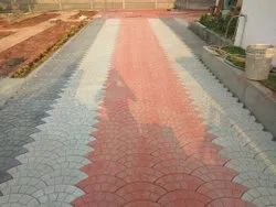 Mountain paver block