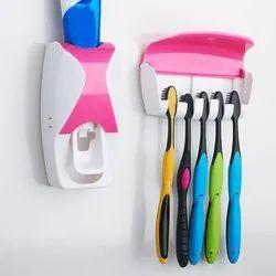 Multicolor Toothbrush Dispenser