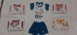 5 Colours Girl & Boy Cotton Baby Dress