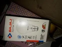 Rectangular LED Bulbs Printed Packaging Box, Size(LXWXH)(Inches): 5w, Weight Holding Capacity (Kg): 6 - 10 Kg