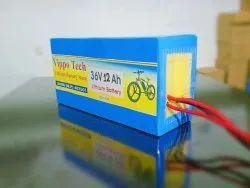 vippo Mileage: 25-30km 36v 12 Ah Li Ion Battery, Maximum Charging Current: 5a, Model Name/Number: 36l12