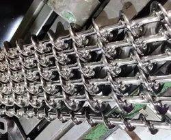 Collar Type Servo Auger Filler Machine