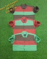 ROYAL KALBI 100% Cottan Heavy Cotton Surgery Pattern Designer Shirts