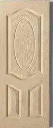 Wood Embossed Moulded panel doors, Primered, Rustic